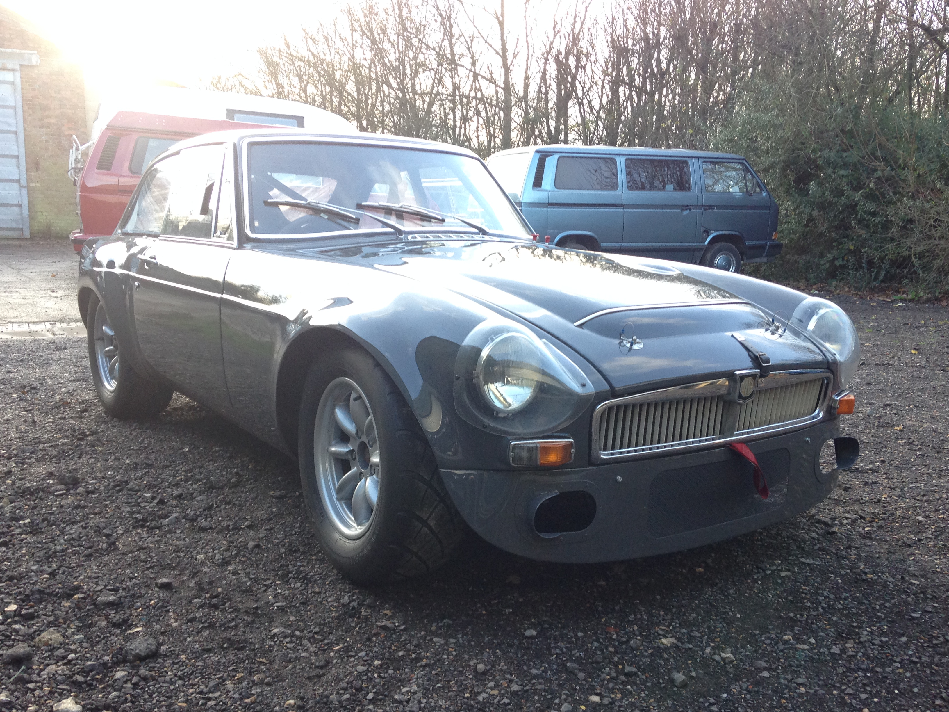 1968 MGC-GT Sebring Replica 'The Grey Whale' « Scruffy